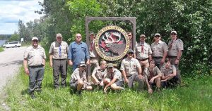 Troop 185 on a trip to Northern Tier